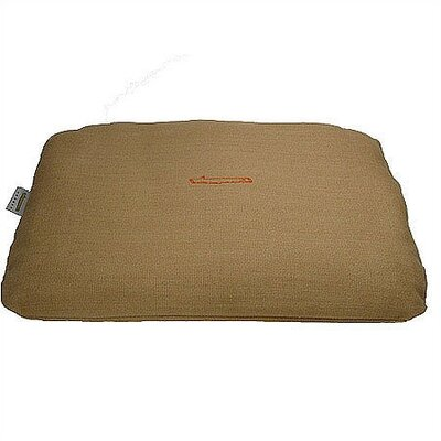 George SF Rectangular Pet Bed Cover and Mattress Set in Burlap