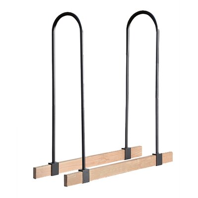 Lumber Rack Firewood Adjustable Brackets