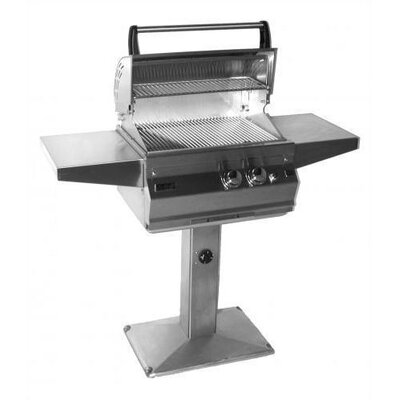 Fire Magic Deluxe Post Mounted Grill