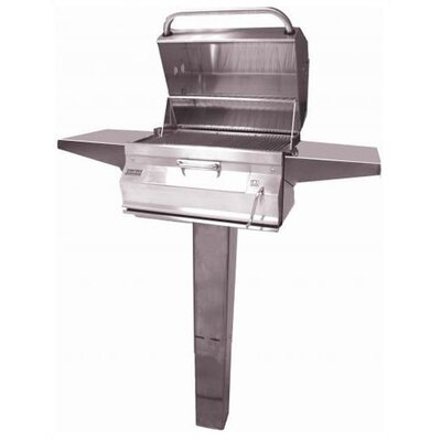 Fire Magic Legacy Post Mounted Charcoal Grill
