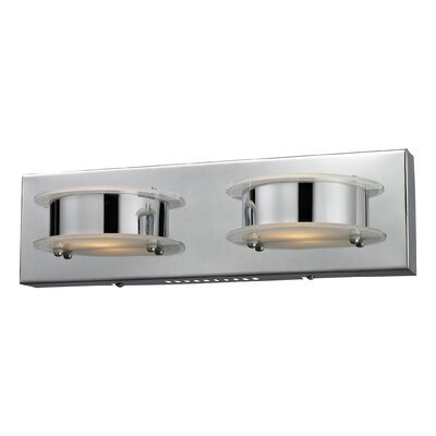 Nulco Lighting Northholt 2 Light Wall Sconce