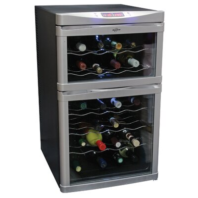Koolatron 24-Bottle Dual Zone Wine Refrigerator