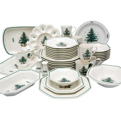 Nikko Ceramics Christmastime Dinnerware Set