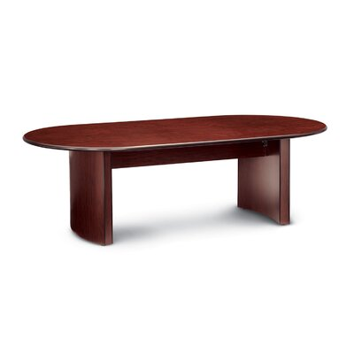 Global Total Office 8' Racetrack Conference Table