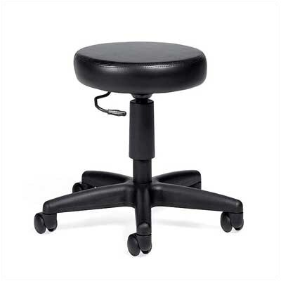 Global Total Office Height Adjustable Swivel Stool with Dual Caster