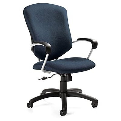 Global Total Office Supra High-Back Pneumatic Tilter Office Chair with Arms