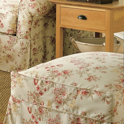 Nantucket Slipcovered Ottoman