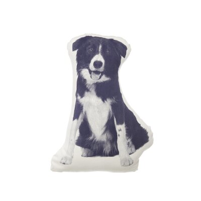 Areaware MINI Border Collie Pillow