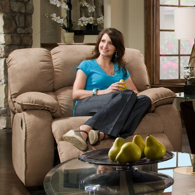 Recline Designs Cordova Leather Chaise Recliner