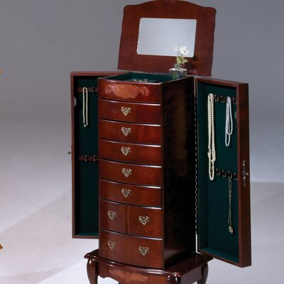 Bernards Jewelry Armoire