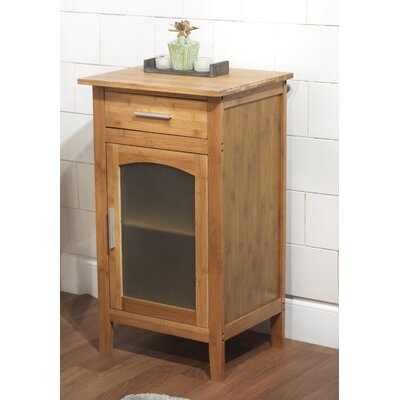 TMS Bamboo Linen Floor Cabinet in Natural