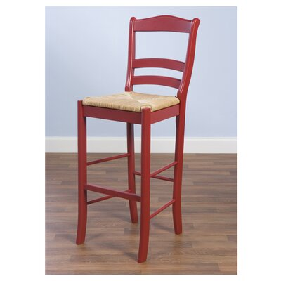 "TMS Paloma 30"" Bar Stool in Red"