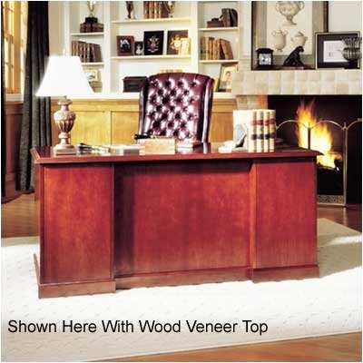 High Point Furniture Legacy Single Pedestal Executive Desk