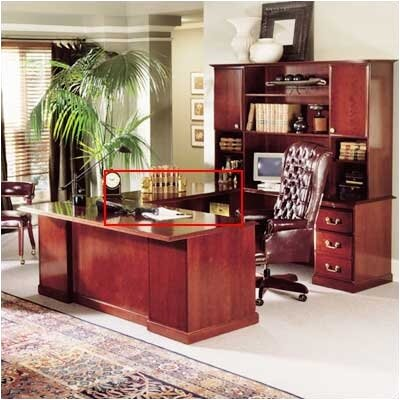 "High Point Furniture Legacy 30"" H x 46"" W Desk Bridge"