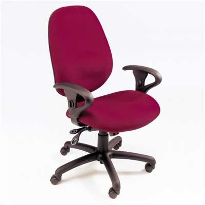 High Point Furniture High-Back Executive Chair with Adjustable Loop Arms