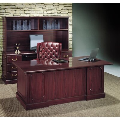 High Point Furniture Wyndham Edges Standard Desk Office Suite
