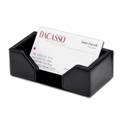 Dacasso Leather Business Card Holder