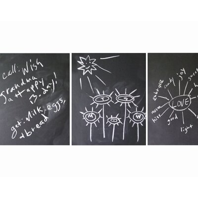 WallCandy Arts Mini Chalkboard (Set of 3)
