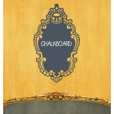 WallCandy Arts RoCoco Chalkboard Removable Wall Decal