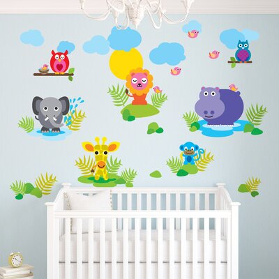 WallCandy Arts French Bull Jungle Wall Decal