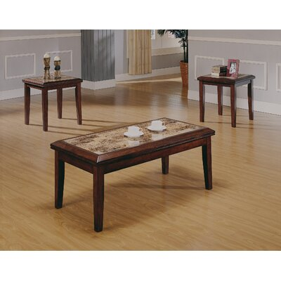Woodbridge Home Designs Belvedere Coffee Table Set