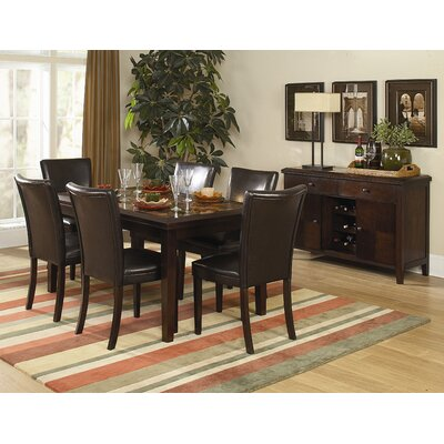 Woodbridge Home Designs Belvedere 7 Piece Dining Set