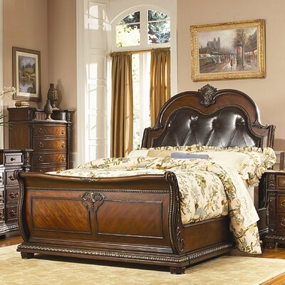Woodbridge Home Designs Palace Sleigh Bed