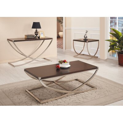 Woodbridge Home Designs Eris Coffee Table Set