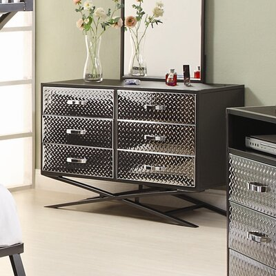 Spaced Out 6 Drawer Dresser