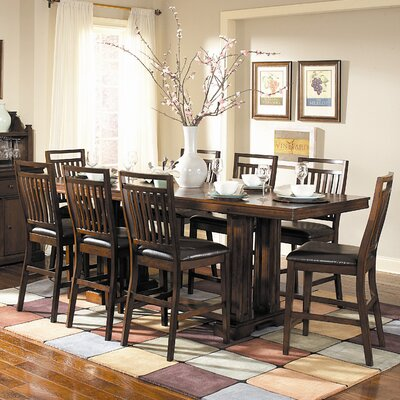 Everett 9 Piece Counter Height Dining Set