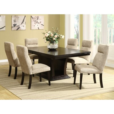 Woodbridge Home Designs 5448 Series 7 Piece Dining Set