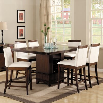 Woodbridge Home Designs Elmhurst 7 Piece Counter Height Dining Set