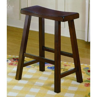 Woodbridge Home Designs 5302 Series Stool in Walnut