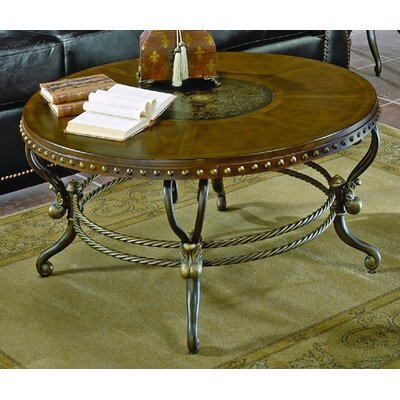 5553 Series Coffee Table with Curved Base
