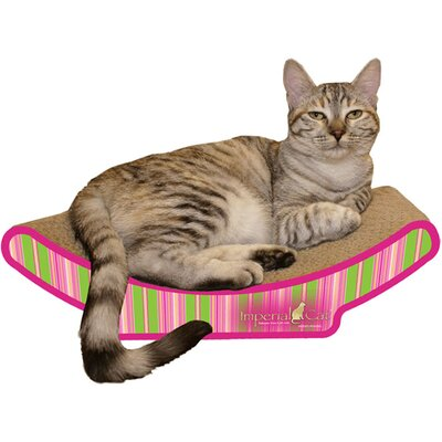 Imperial Cat Cozy Curl Recycled Paper Cat Scratching Board