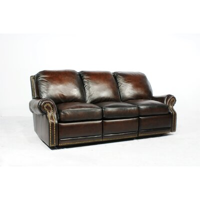 Barcalounger Premier Leather Reclining Loveseat