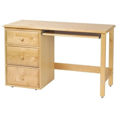"Maxtrix Kids 51.5"" W Student Computer Desk and Hutch Set"