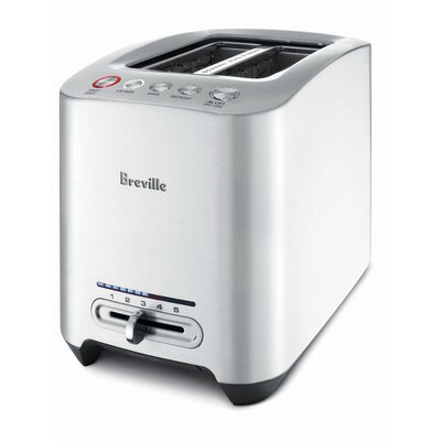 Breville Remanufactured Die-Cast 2-Slice Smart Toaster