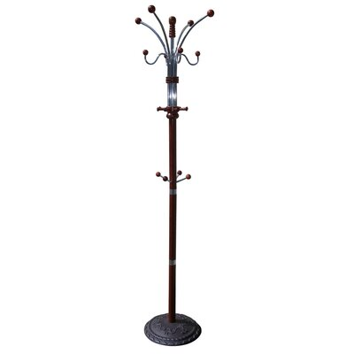 ORE Furniture Coat Rack in Cherry