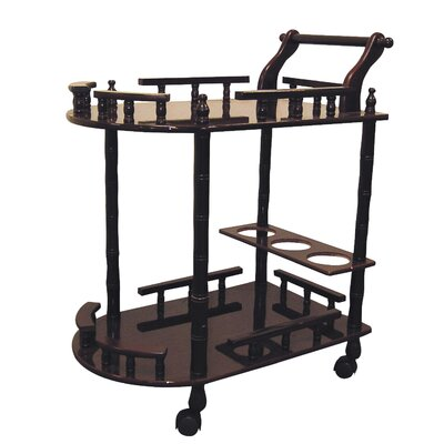 ORE Furniture 2 Tier Wine Table