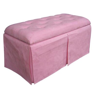 ORE Furniture Microfiber Storage Bench