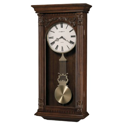Howard Miller® Greer Chiming Quartz Wall Clock