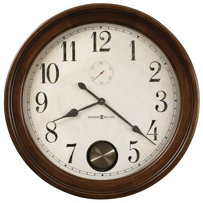 Auburn Quartz Wall Clock in Hampton Cherry