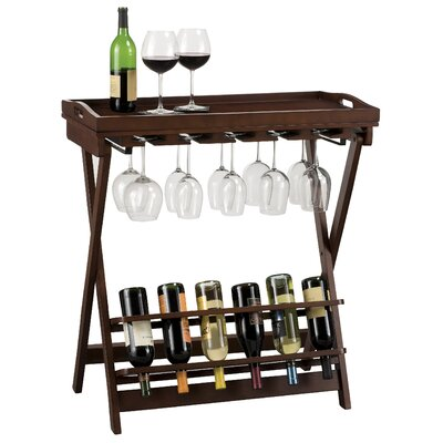 Howard Miller® Havana 6 Bottle Wine Rack