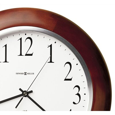 Howard Miller® Murrow Radio Adjusted Atomic Wall Clock