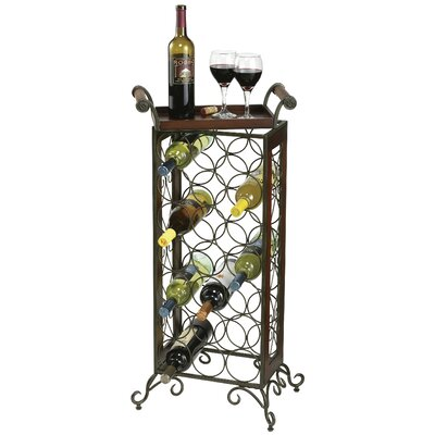Howard Miller® Butler 21 Bottle Wine Rack