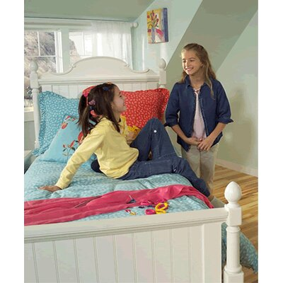 LC Kids Summer Breeze Scroll Top Low Poster Headboard