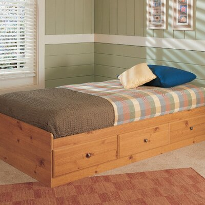 New Visions by Lane Mountain Pine Mates Twin Bed in Pine
