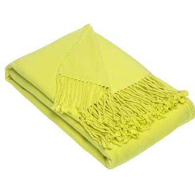 Blissliving Home Argo Throw in Citron