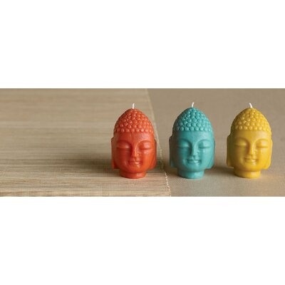 Blissliving Home Mini Trio Buddha Novelty Candles (Set of 3)
